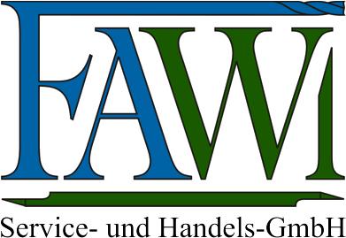 Fawi-Logo mit Firmentext