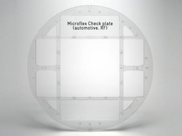 Schablone aus Acrylglas (Plexiglas)