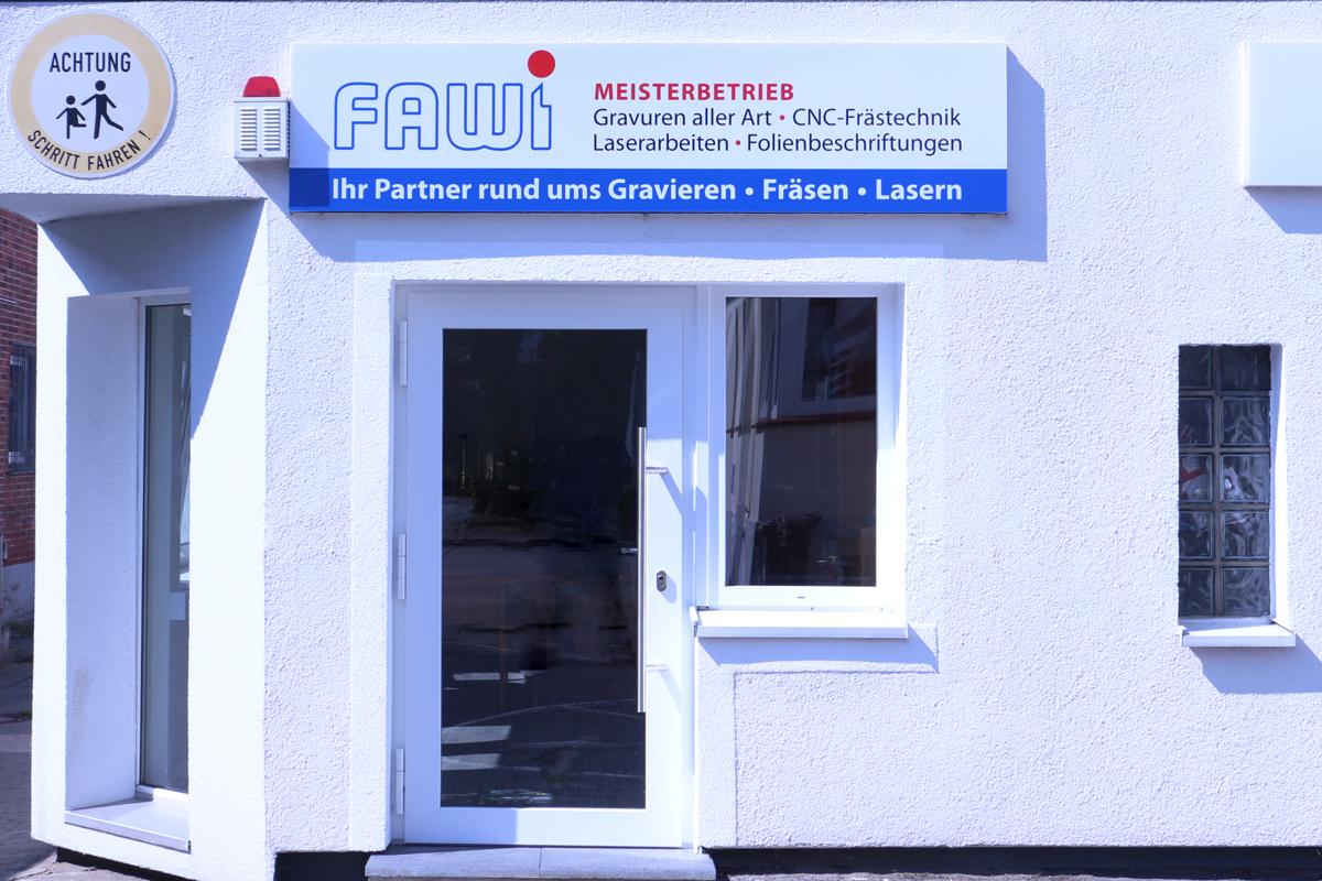 FAWI-Geschäft in Norderstedt / Stadtgrenze Hamburg